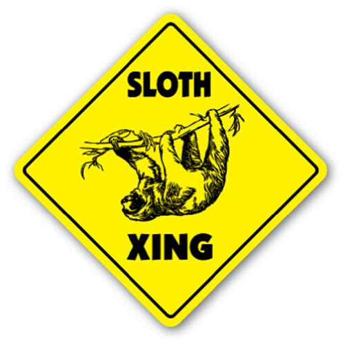 Sloth Crossing Sign