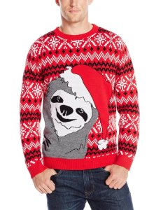 Christmas Sloth Jumper