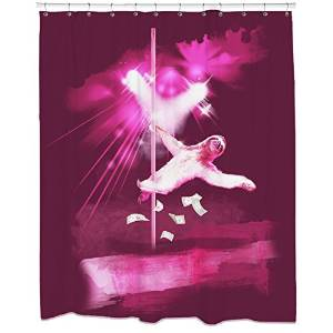 Stripper Sloth Shower Curtains