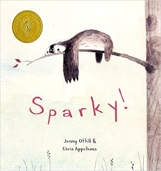 Sparky! - Children's Sloth Book