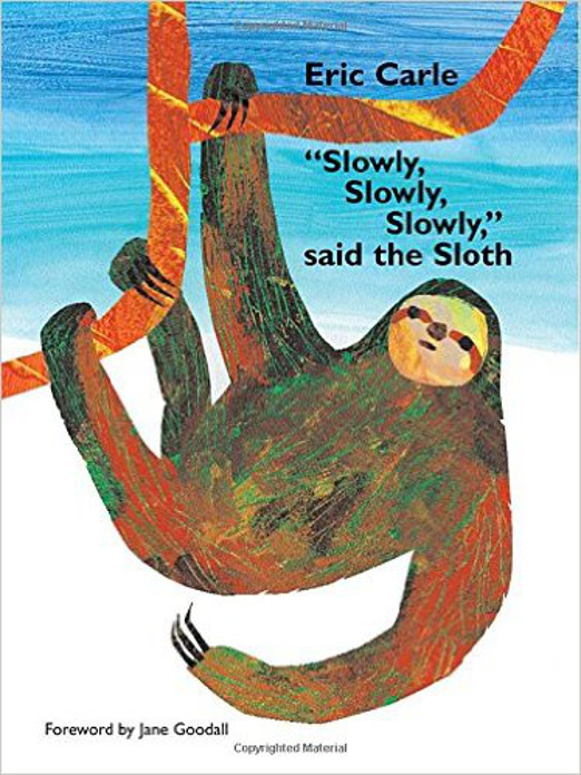 Children's Sloth Book - Slowly, Slowly, Slowly, Said the Sloth