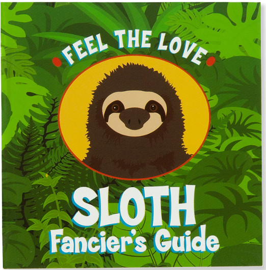 Sloth Book With Sloth Toy