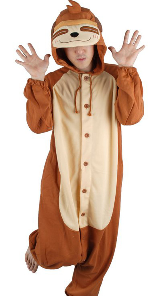 Sweet Holic Unisex Kigurumi Costume - Sloth Pajamas