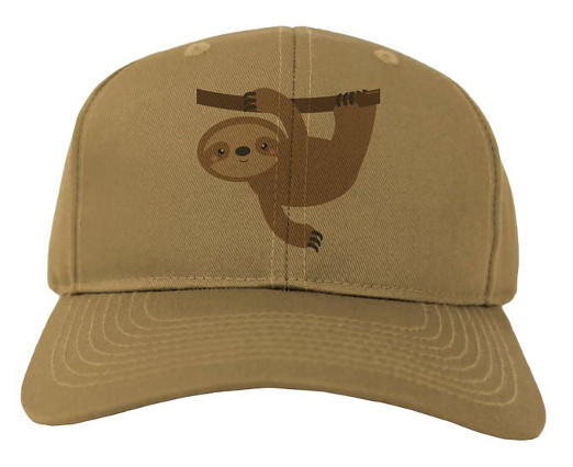 Brown Sloth Hat Cap
