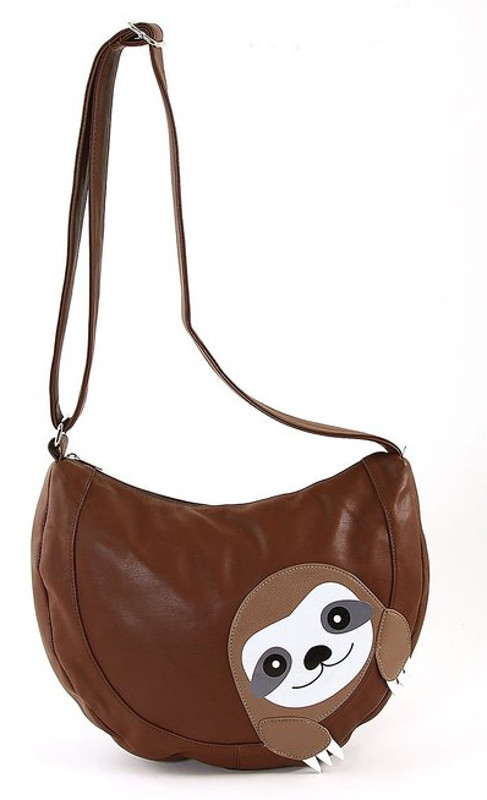 Leather Sloth Bag