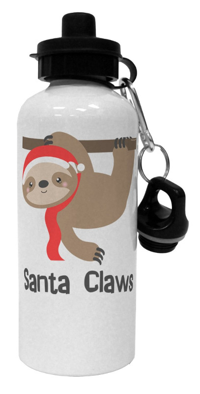 Christmas Sloth Water Bottle