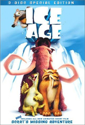 Ice Age Sloth DVD