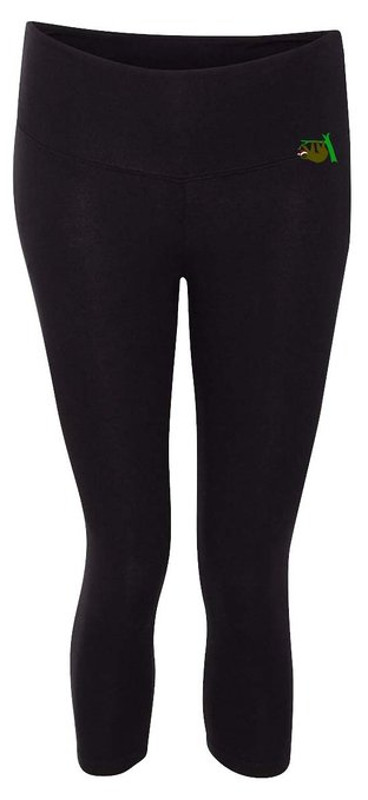 Black Sloth Leggings
