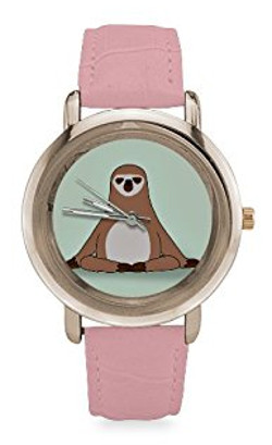 Women's Pink Sloth Watch