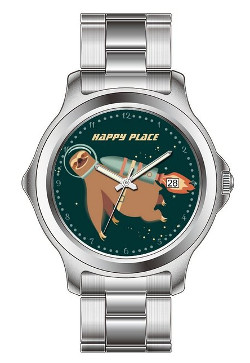 Outer Space Sloth Watch