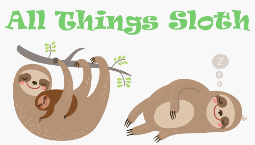 Sloth Logo - All Things Sloth