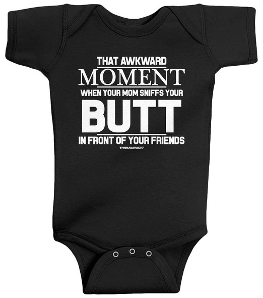Funny Text Unisex Baby Clothe