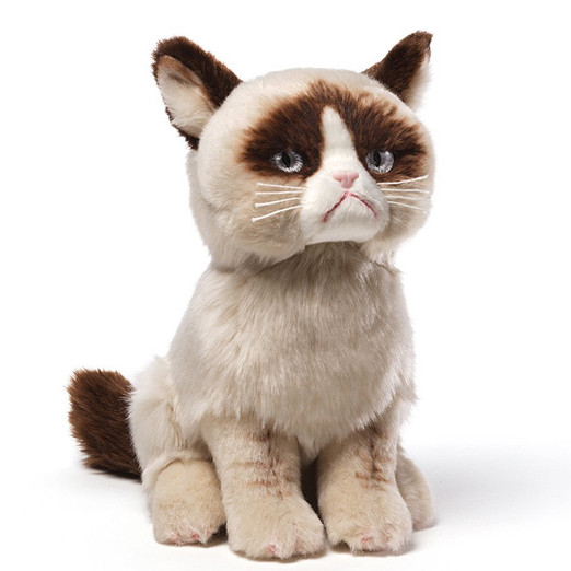 Giant Grumpy Cat Plush Toy