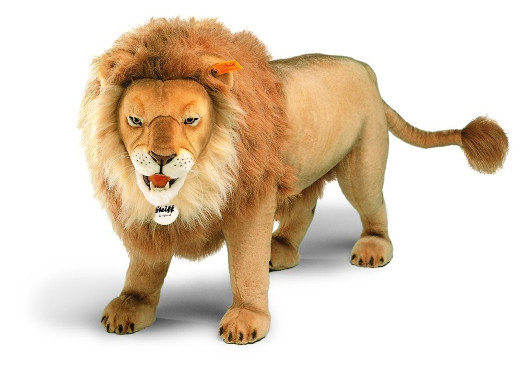 Studio Life Size Male Lion Statue