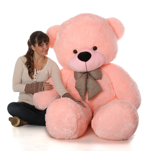 Huge Pink Teddy Bear Toy