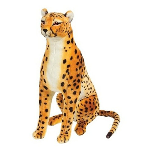 Giant Plush Cheetah Toy