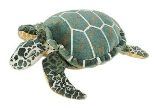 Giant Plush Sea Turtle Toy