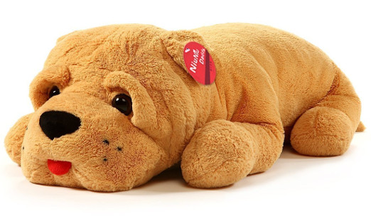 Giant Stuffed Dog Plush Pillow