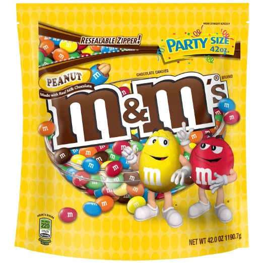 Peanut Chocolate M&M'S Halloween Candy