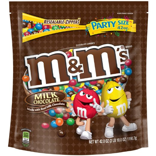 Chocolate M&M'S Halloween Chocolate Candy