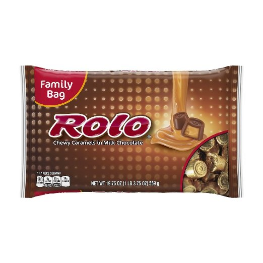 Chocolate Rolo Halloween Candy