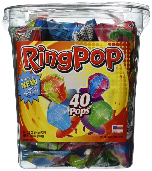 Ring Pop Halloween Candy