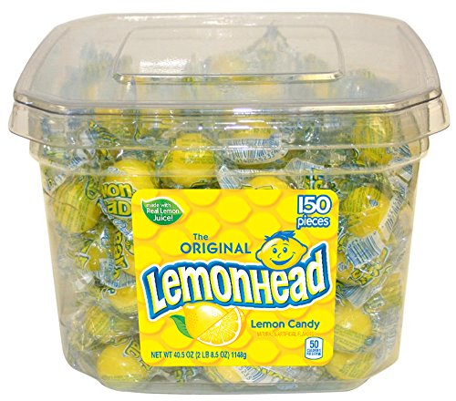 Lemonhead Halloween Candy