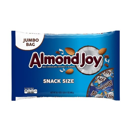Almond Joy Halloween Candy