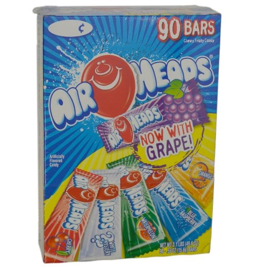 Air Heads Fruit Halloween Candy
