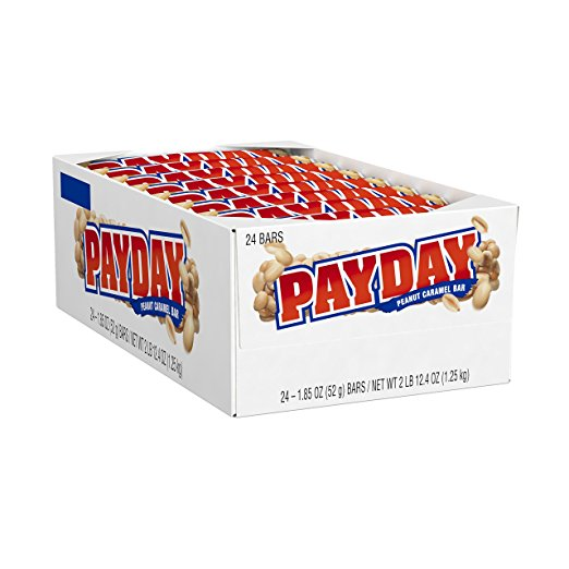 Payday Peanut Caramel Halloween Candy