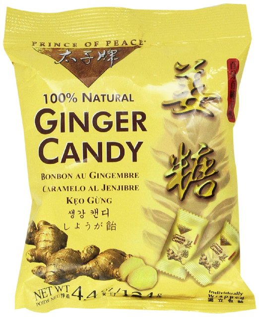 Ginger Halloween Candy