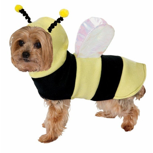 Funny Bumble Bee Dog Costume