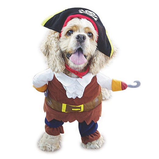 Funny Pirates of the Caribbean Pet Costume