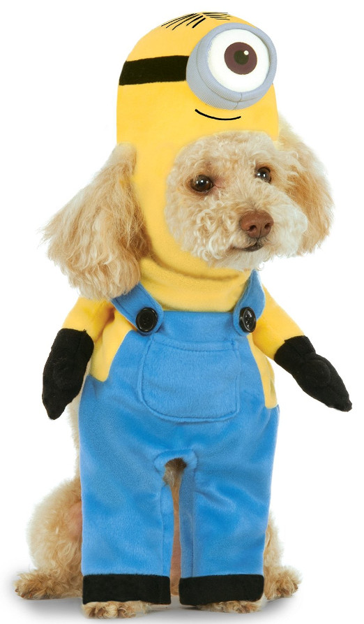 Funny Minion Pet Dog Costume