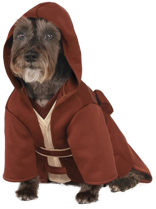 Funny Star Wars Jedi Robe Pet Dog Costume