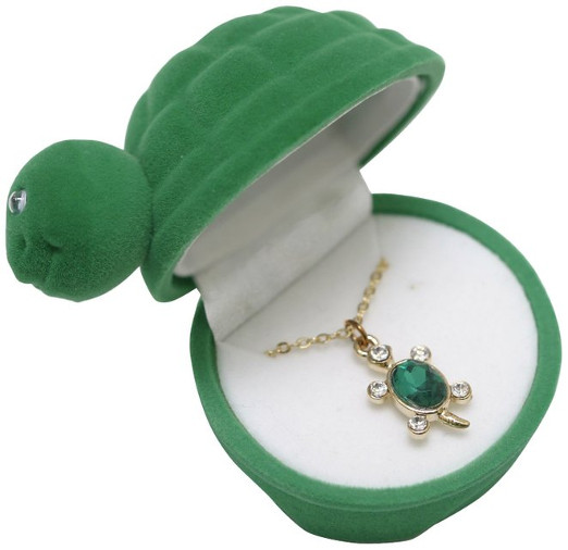 Adorable Turtle Case & Necklace