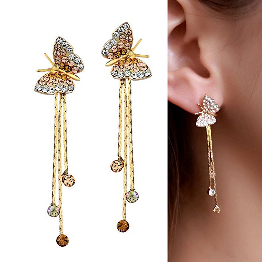 Stunning Butterfly Animal Earrings