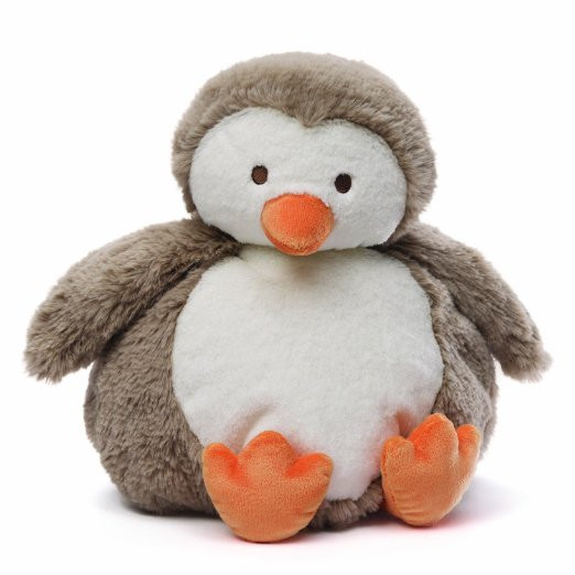 Chubby Plush Baby Penguin Toy