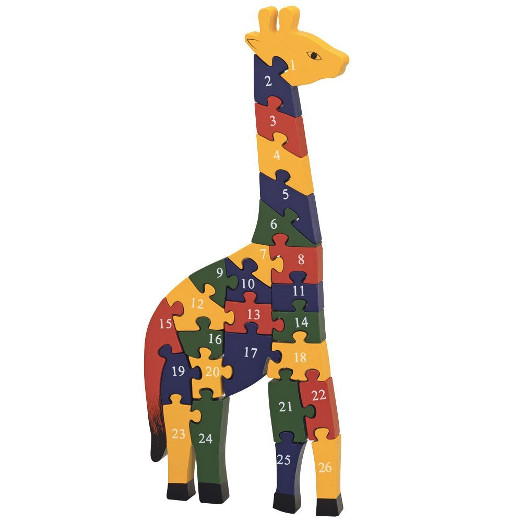 Wooden Giraffe Puzzle Toy For Kids
