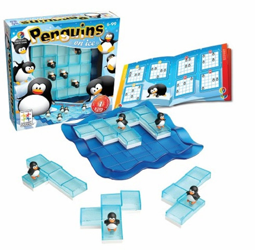 Penguins On Ice Toy Game