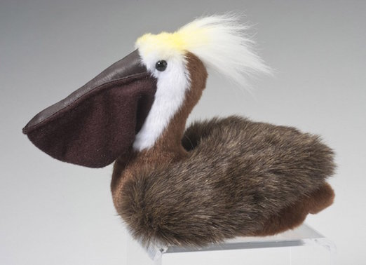 Brown Cute Pelican Plush Toy