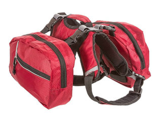 Dog Backpack for hiking and camping