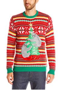 Sloth Ugly Christmas Sweater