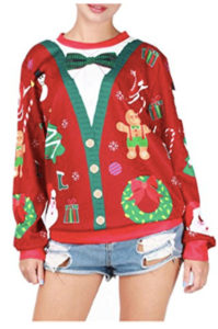 Hyperbole Ugly Christmas Jumper