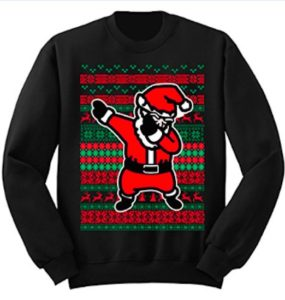 Dabbing Claus Sweater