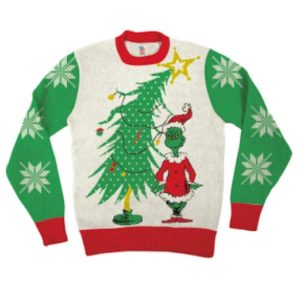 Dr Seuss Grinch Sweater