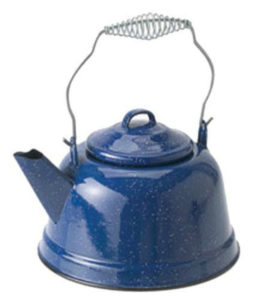 Outdoors Blue Kettle