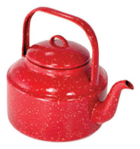 Red Outdoor Kettle
