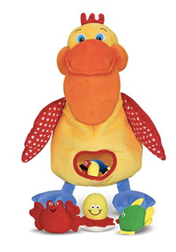 Hungry Pelican Plush Kids Toy