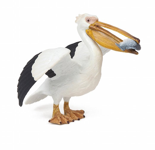 Pelican Toy Figurine